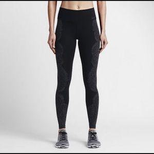 Nike Legendary Engineered Tidal Training Tights L